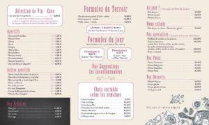 restaurant vernet les bains menu