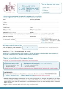 Cure thermale Rhumatologie Cure thermale Arthrose
